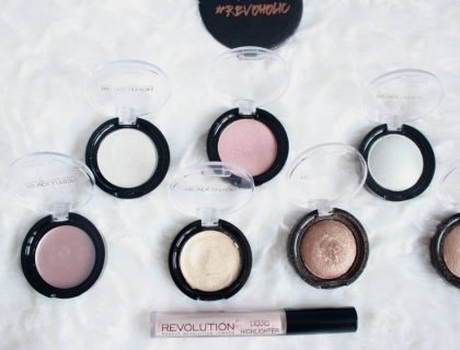 Revue des highlighters Makeup Revolution : top ou flop ?