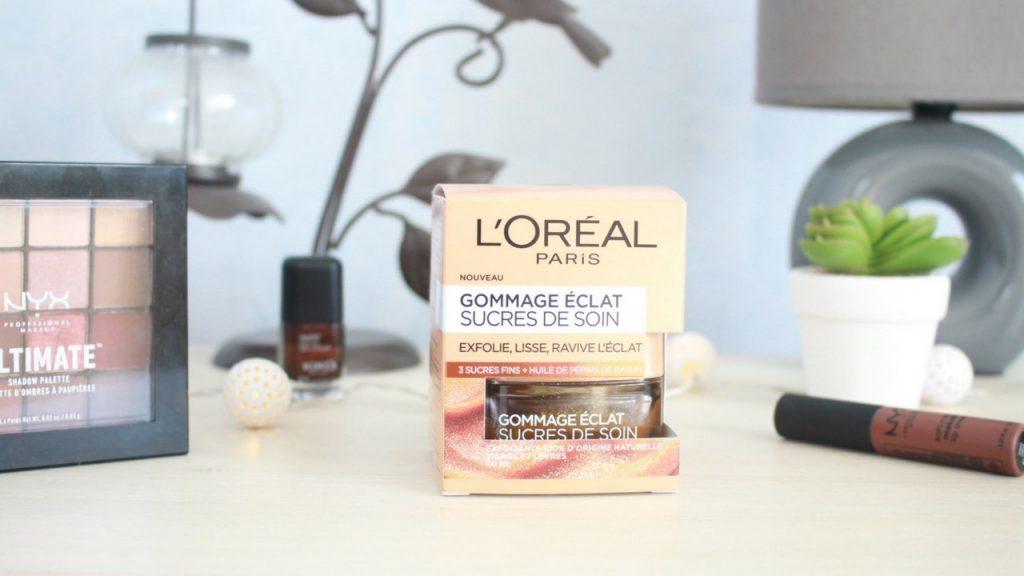 Revue du Gommage Éclat Sucres de Soin de L'Oréal Paris