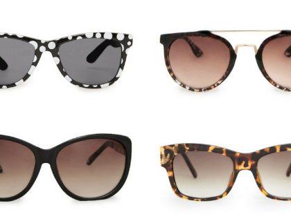 Sélection de lunettes de soleil stylées et pas cher