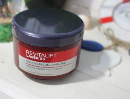 Revue des Disques Peeling Anti-Âge Revitalift de L'Oréal