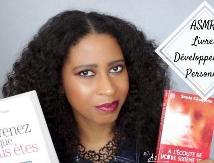 [ ASMR Français Voix Basse ] Les livres qui m'ont aidé