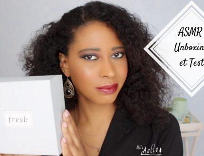 [ ASMR ] Unboxing et Test de Baumes à Lèvres