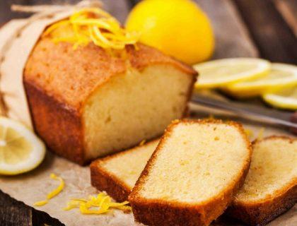 Délicieux cake au citron et au gingembre