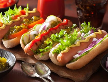 Hot dogs vegan faciles