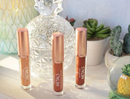 Revue des Metal Matte Metallic Lipgloss de Cookie's Make up