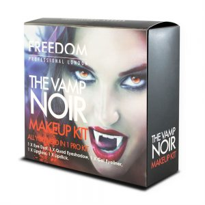 Freedom Makeup London Halloween Look Vamp Noir