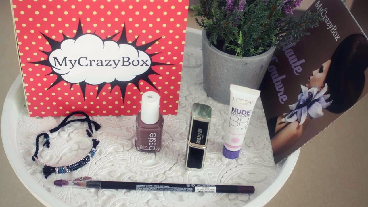 J'ai testé My Crazy Box : la box de maquillage la moins chère du marché