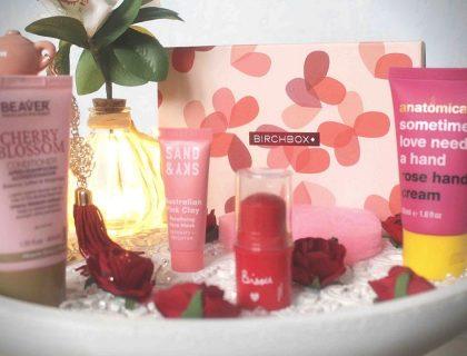 Birchbox une box beauté pleine d'amour pour la Saint-Valentin