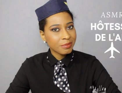 ASMR ROLEPLAY HÔTESSE DE L'AIR ✈