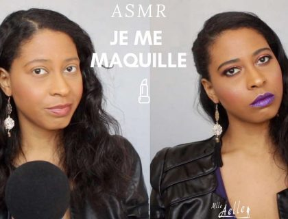 ASMR JE ME MAQUILLE - CHUCHOTEMENTS TAPPING