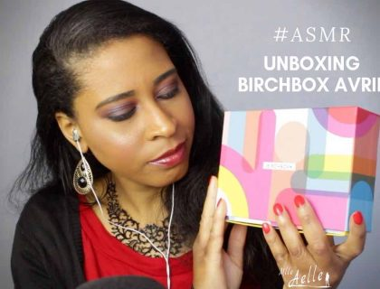 ASMR UNBOXING BIRCHBOX AVRIL