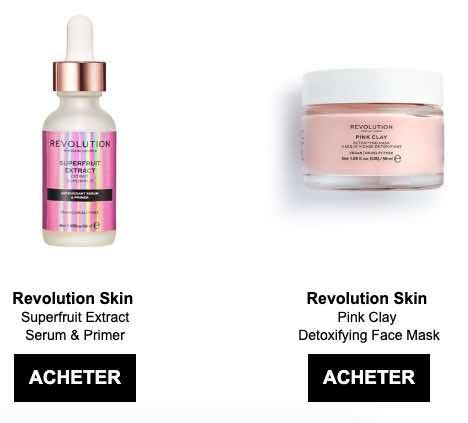 Les nouveaux soins beauté de Revolution Beauty