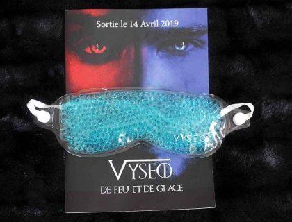 J'ai testé le masque pour yeux Vyséo
