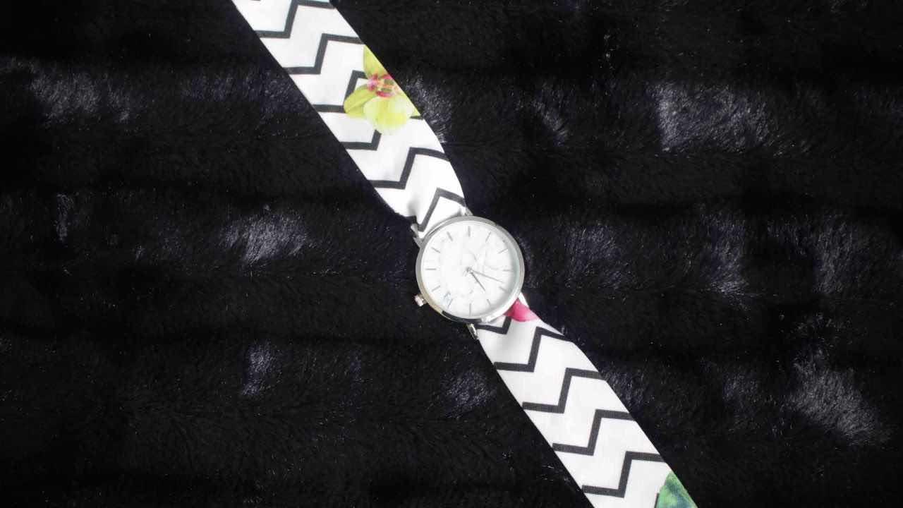 J'ai testé les montres bracelet foulard de Gabriel Rivaz