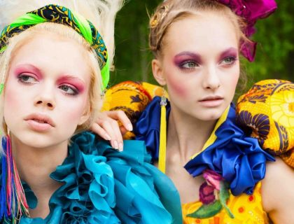 Les tendances maquillage des années 80 font leur retour en force