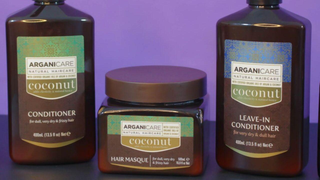 J'ai testé la gamme capillaire Arganicare Coconut